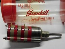 Ms Grayhill 9my231036 Series09 3 Deck 1pdeck 8 Positions Shorting Rotary Switch