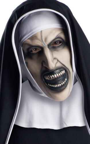 Adult THE CONJURING NUN 2018 Movie Official Fancy Dress 3//4 Mask Halloween NEW