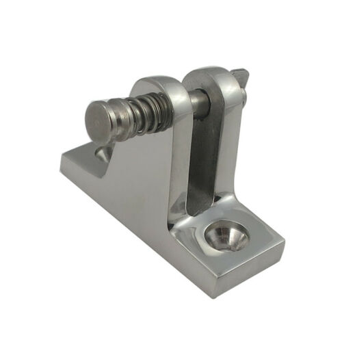 White Water Angle Base Deck Hinge 80 Degrees Removable Pin #6834S
