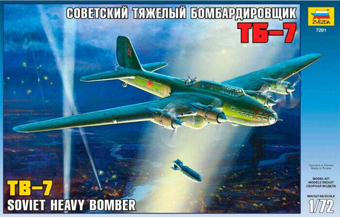 Zvezda 1 72 Tb-7 Soviétique Lourd Bombardier