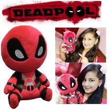 """7"""" Small Cute Deadpool Q Version Soft Plush Stuffed Teddy Doll Toy"""