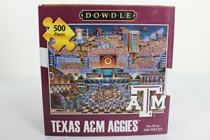 Dowdle-Texas-A-amp-M-Aggies-Stadium-Puzzle-16x20-in-500-Pieces-NEW