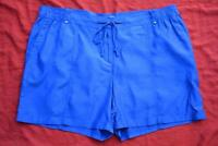 Sussan Royal Blue Shorts Size 16 Rrp $59.95. Stylish Design