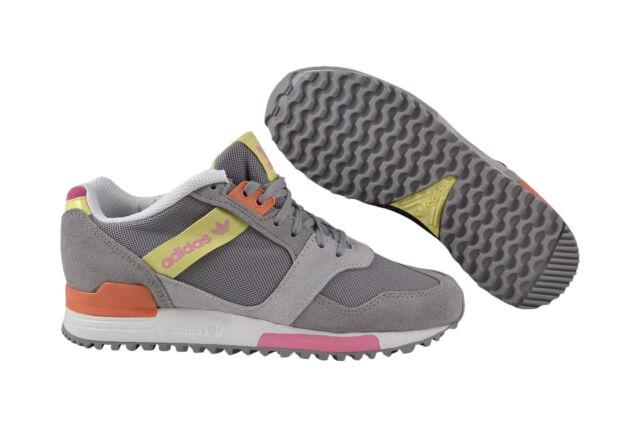 best service 1b27c 3dfac Adidas ZX 700 Contemp grau gelb Sneaker Schuhe