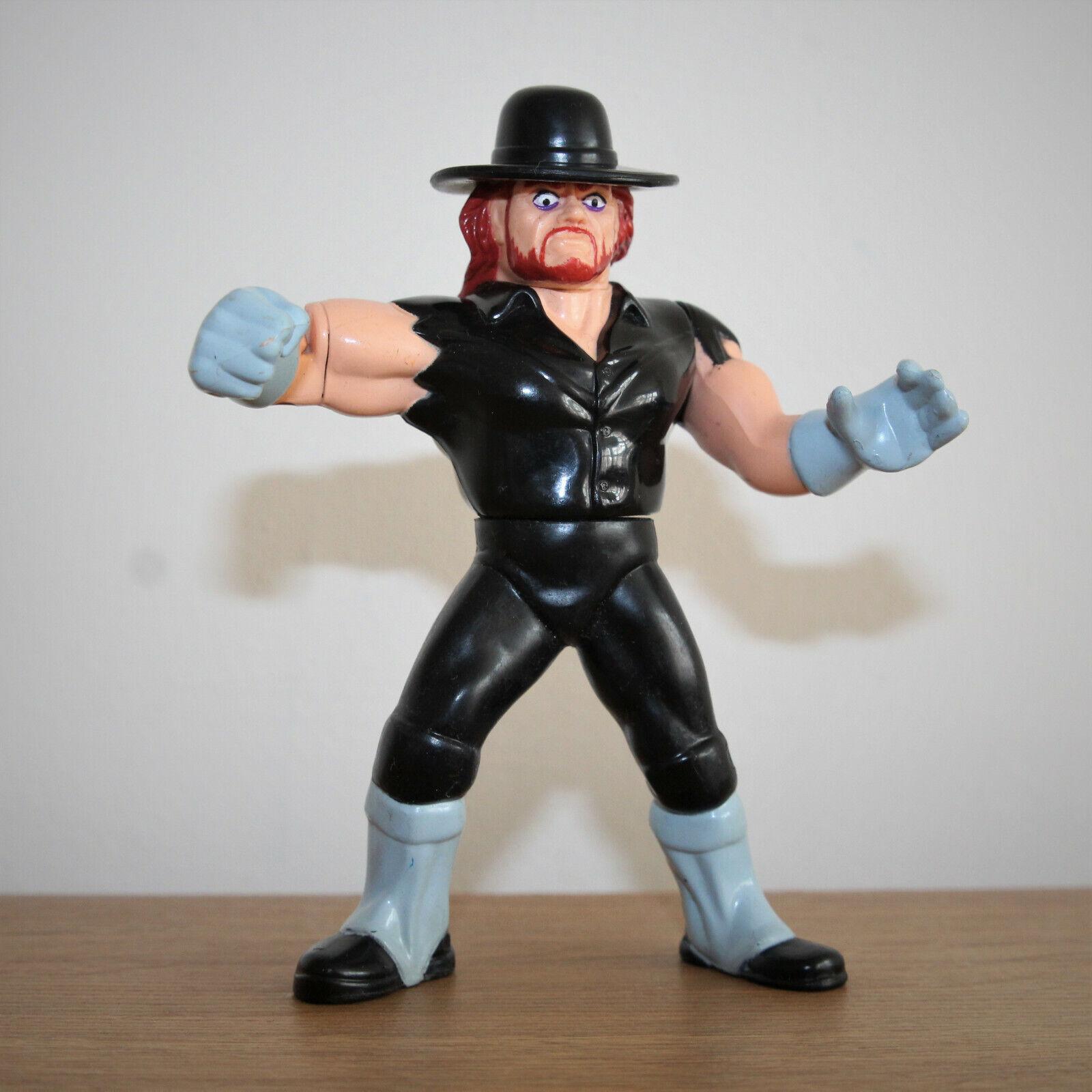 WWF-LE POMPE divertiessitoEBRI-Hasbro-Titan sportivo-Vintage Wrestling cifra-WWE