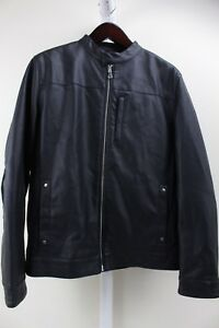INC-International-Concepts-100-Polyester-Faux-Leather-amp-Suede-Lined-Jacket-M