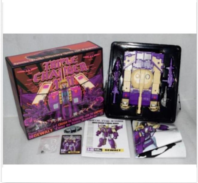 DX9 giocattoli Transformers D08 Gewalt Blitzwing azione cifra MISB In Stock nuovo