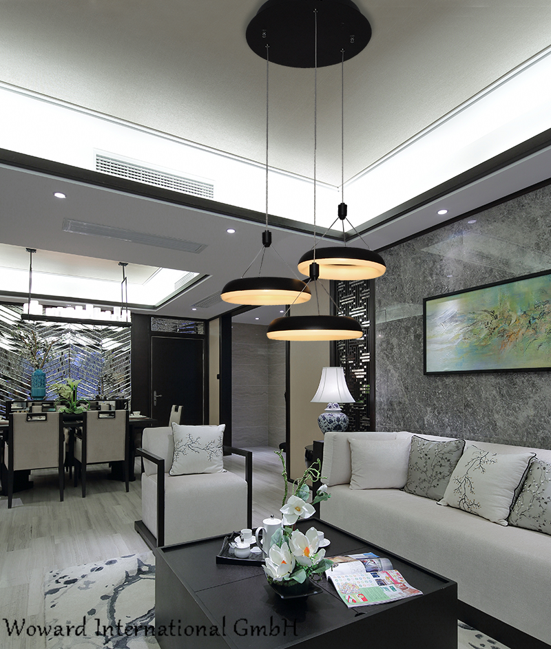 WOW LED Hängelampe leuchten WOW-7102 Esstischlampe Warmweiß Kabel einstellbar