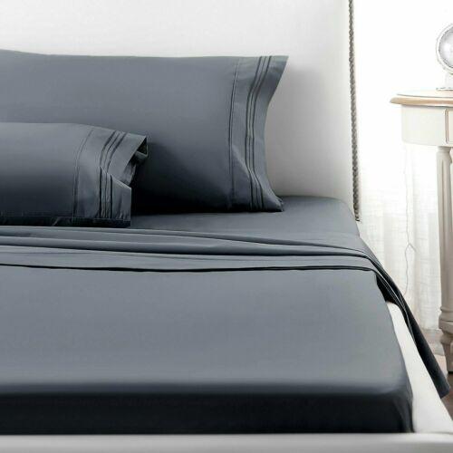 Luxury Egyptian Comfort Sheet Set Deep Pocket Warm Cozy Super Soft Bedding USA