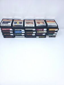 Vintage-Atari-2600-Games-Lot-of-25-Games-mix-7