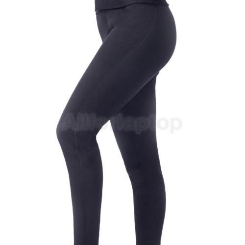 Neopren Gewichtsverlust Hosen Thermo Sauna Abnehmen Hosen Shapewear Schwarz