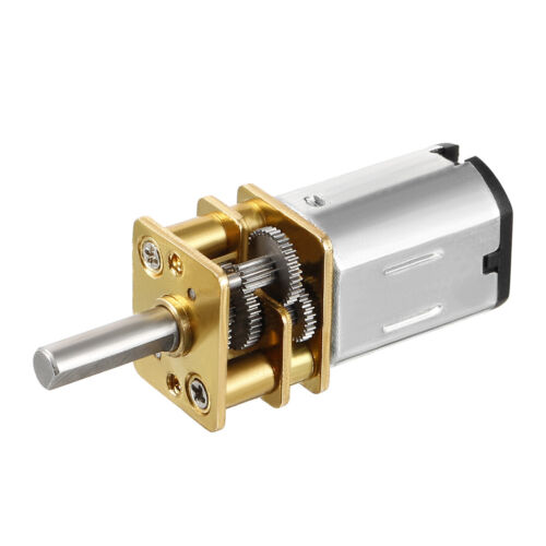 DC 3//6//12V 15-1000RPM 0.15A//0.18A Micro Gear Box Speed Electric Reduction Motor