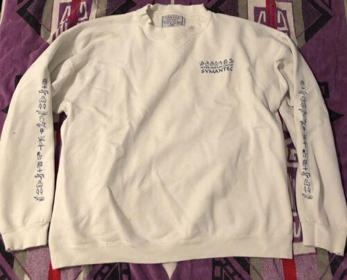 Vintage peter norton sweatshirt L Computing Bill G