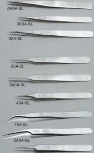 Erem By Weller 120 Mm, Anti-magnétique Acier Inoxydable, Droit ; Pointu, Anti-ac