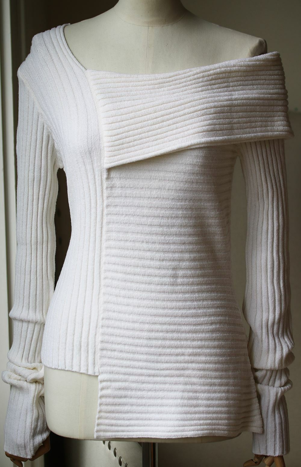 MAURIE AND EVE AVELINE RIBBED KNIT SWEATER