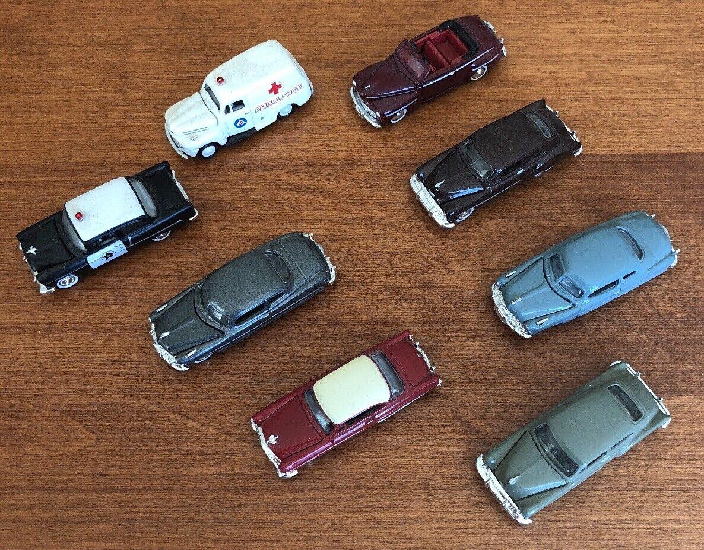 Klassische 50 autos metall w   polizei - und krankenwagen