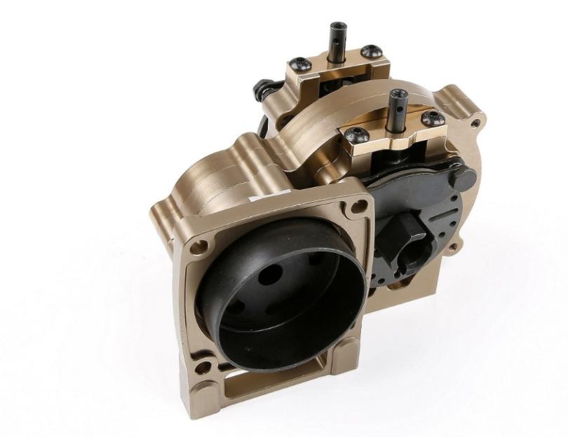 CNC Alloy Middle diff gear set Titanium for 1/5 losi 5ive-T rc car parts