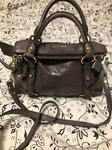 fc94b0d5c317b Authentic Miu Miu Prada Vitello Lux Bow Fold Over Hobo Crossbody Bag ...