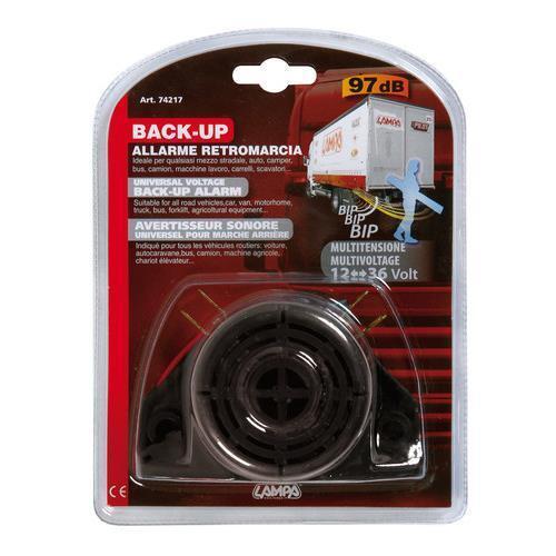allarme retromarcia multitensione 12-24-36V Back-Up