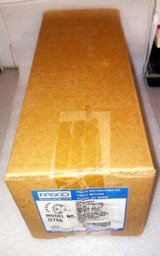1 NEW FASCO D786 SPLIT CAPACITOR MOTOR 3//4 MAX HP ***MAKE OFFER***
