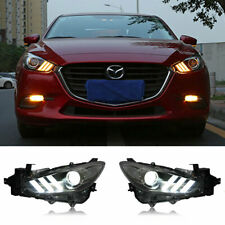 For Mazda 3 Axela Led Headlights Projector Hid Drl 2017 2018 Replace Oem Halogen Fits Mazda 3