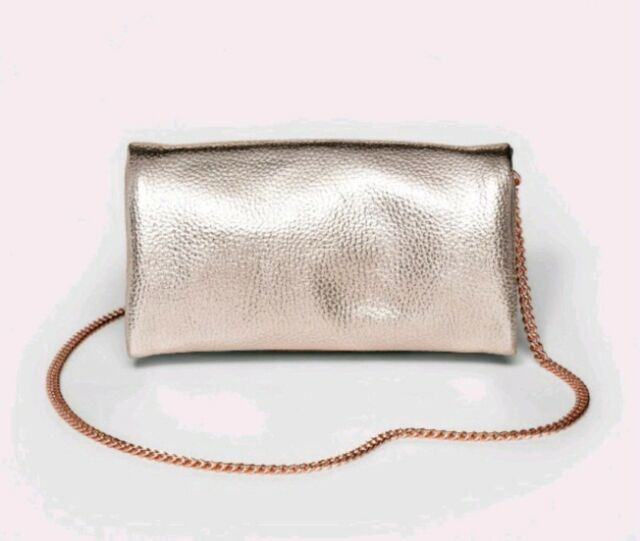 9d1257c777ee Buy Mossimo Metallic Purple Foldover Clutch With Removable Crossbody ...