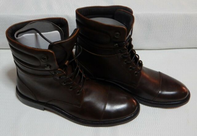 0afb123cf22 Kenneth Cole Let's Roll Cap Toe Boot Brown New With Box Size 8. M #1775-1-Y