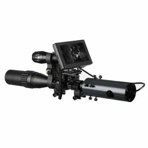 DIY-Night-Vision-Scope-Digital-Camera-For-Rifle-Scope-With-IR-Torch-amp-Monitor