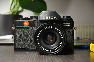 Leica-R3-mot-electronic-lens-elmarit-R-180mm-f2-8-motor-winder