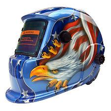 AEW@ Solar Auto Darkening Welding Helmet Arc Tig mig certified hood grinding AEW