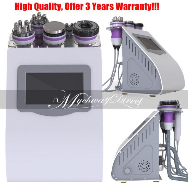 5 in 1 Vacuum Ultrasonic Cavitation Radio Frequency RF Body Slimming  Machine Spa