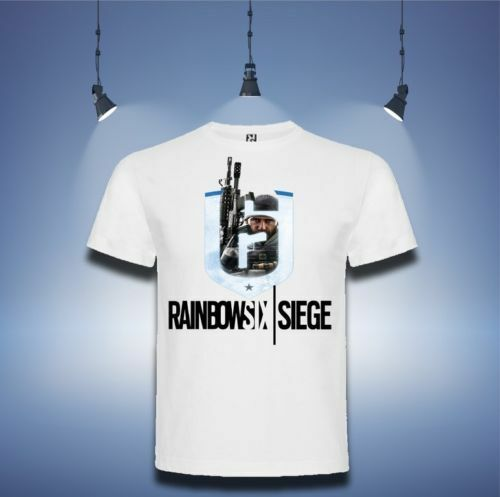 Rainbow Six Siege T-Shirt Siege PC Gaming PS4 Xbox One Boys