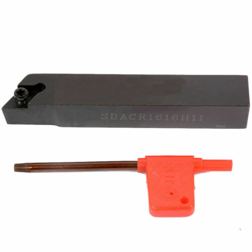 SDACR1616H11 lathe External Turning Tool Holder 10pcs DCMT11T304 Carbide insert