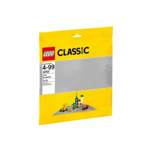 LEGO Classic 10701 Gray Base plate for lego parts and minifigures