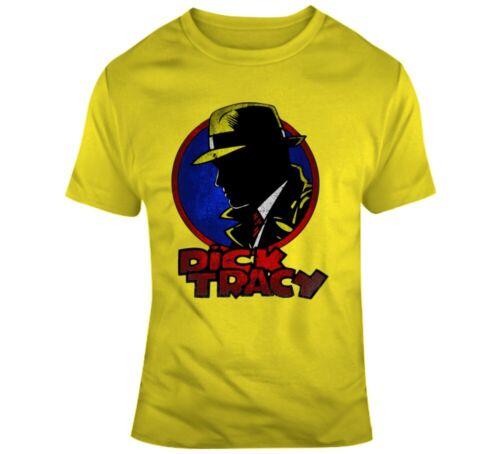 Dick Tracy Comic Hero Movie Vintage Design Fan Request T Shirt T Shirt