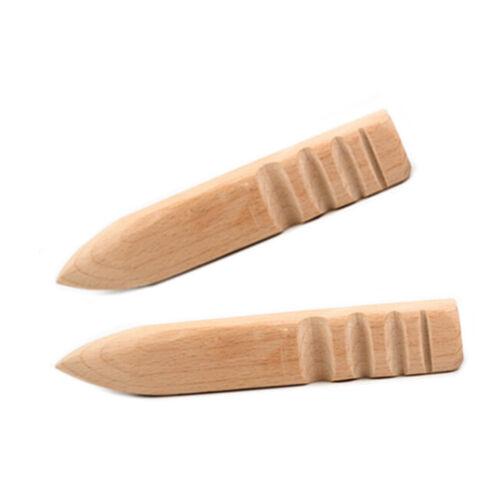 Multi-Size Burnisher Leather craft Edge Round Slicker Wood Leathercraft tools