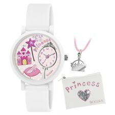 Tikkers ATK1013 Girls Princess 3D Watch Gift Set with Necklace and Purse £19.99
