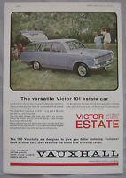 1964 Vauxhall Victor 101 estate Original advert