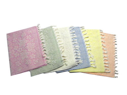 Towel with Guest Terry Towel Bath Set 1+1 100/% Cotton 450gr//mq Pure Cotton