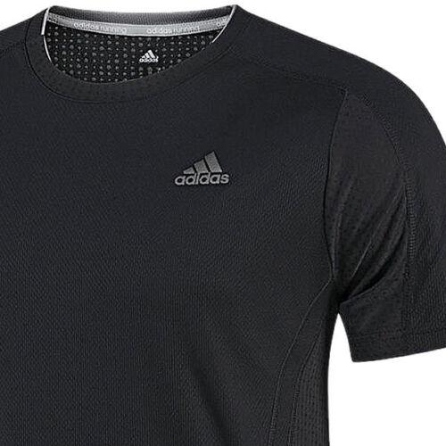 adidas Herren Shirt Supernova ClimaCool Laufshirt Running Sportshirt schwarz NEU