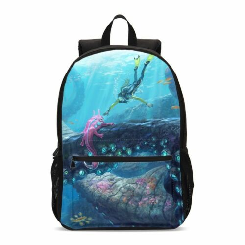 SUBNAUTICA Big Bookbags Backpack Insulated Lunch Box Shoulder Bags Pen Case Lot