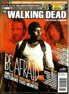 The Walking Dead Official Magazine Issue #6 NOV/DEC 2013 NEW FREE S/H