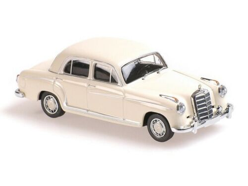 WHITE 940033000 MAXICHAMPS 1:43 New in a box 1956 MERCEDES-BENZ 220S