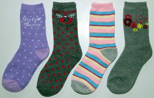 COTONE Calze termiche ragazze bambini 4*er TG: 27//30; 31//34; 35//38.neu. inverno