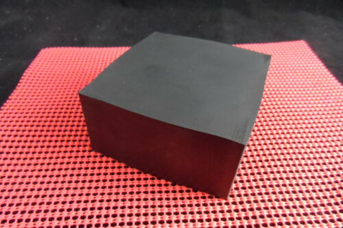 SOLID RUBBER BLOCK 100MM X 100MM X 75MM FREE POSTAGE E P D M HIGH QUALITY