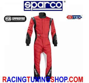 TUTA-SPARCO-EAGLE-RS8-1-TG-50-HOCOTEX-RACING-SUIT-FIA-8856-2000-BLACK-RED