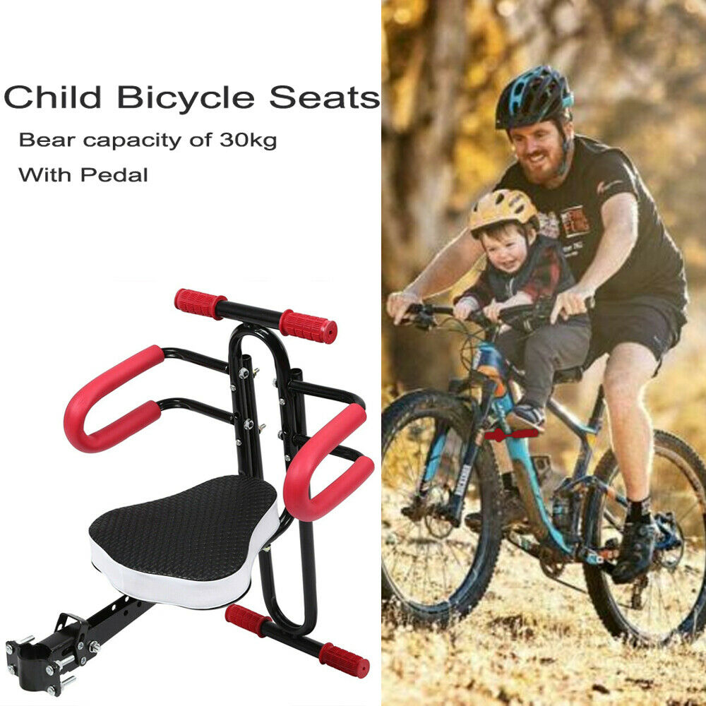 Fiaoen Kids Bicycle Seat,Comfortable Baby Carrier Seat Bike,Deluxe Bicycle Mounted Child Carrier Bike Seat Safe Study Bike Seat for Children Infant Toddlers Adult Bike Attachment