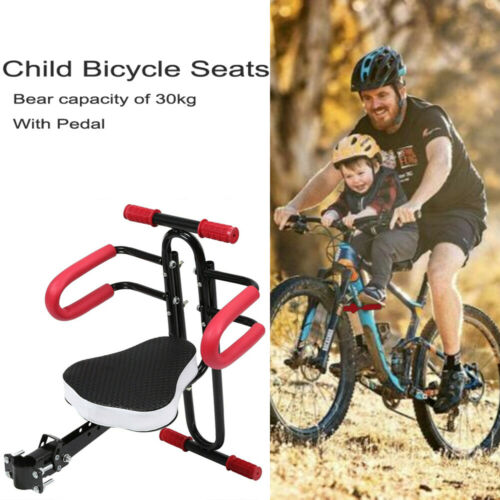 Bicycle Children Baby Seat Front Mount Child Safety Carrier Front Seat Handrail