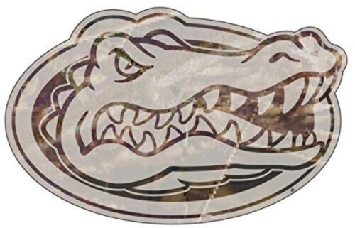 """PREMIUM VINYL DECAL LICENSED NCAA UF  4/"""" CAMO FLORIDA GATORS"""