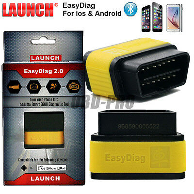 Launch X431 EasyDiag 2.0 for IOS OR Android OBDII Code Reader Scanner